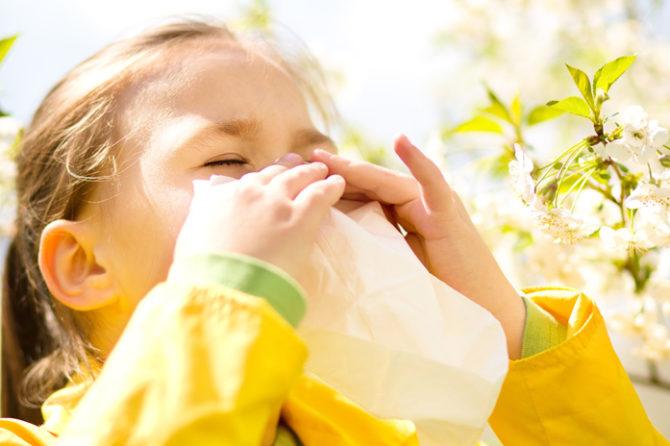 E' tempo di allergie – rinite allergica nel bambino
