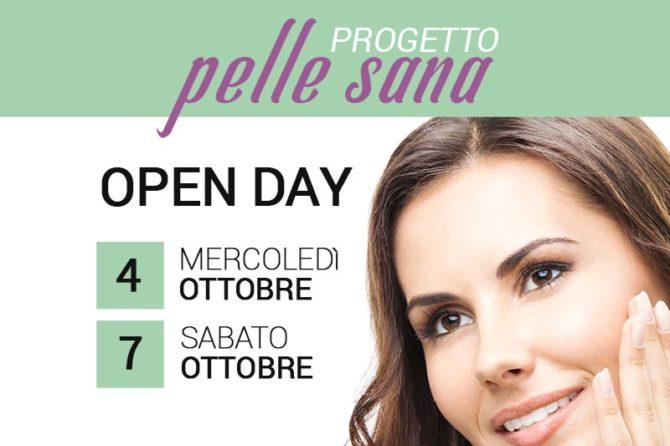 """Evento OPEN DAY """"Progetto Pelle Sana"""" – il 4 e il 7 Ottobre"""