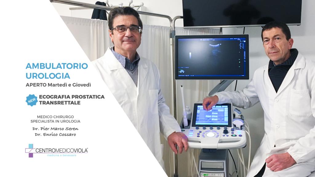 biopsia della prostata ed enteroclisi in ospedale