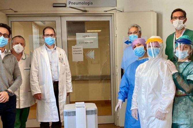 CENTRO MEDICO VIOLA E ROTARY CLUB VENEZIA, INSIEME CONTRO IL COVID-19