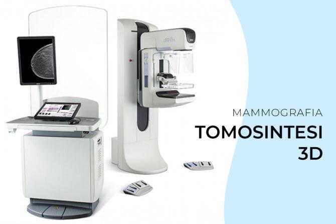 La MAMMOGRAFIA con tomosintesi 3D